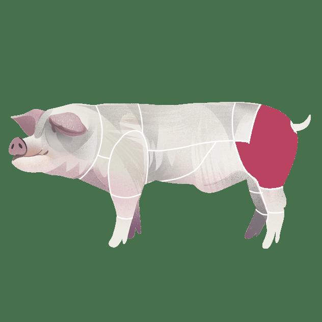 Skinke fra svin