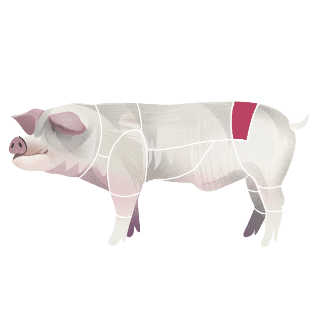 Mørbrad av svin